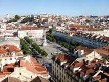 De Mening van Lissabon Stock Afbeelding