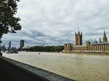De mening van Londen stock afbeelding