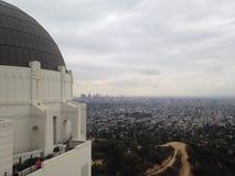 De mening van Los Angeles Stock Afbeelding