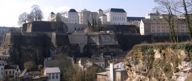 De mening van Luxemburg Stock Foto's