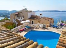 De Mening van Mallorca stock afbeelding