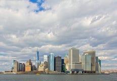 De Mening van Manhattan Royalty-vrije Stock Afbeeldingen