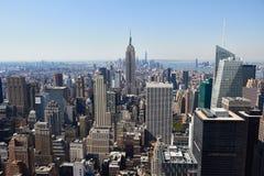 De Mening van Manhattan Stock Afbeeldingen