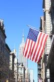De mening van Manhattan van Empire State Building Royalty-vrije Stock Afbeeldingen