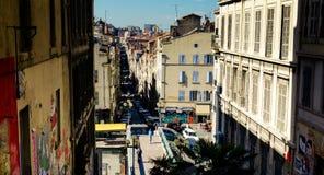 De mening van Marseille stock foto's
