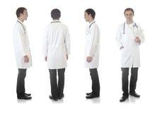 De mening van Medecin onder verschillende hoeken Royalty-vrije Stock Fotografie