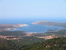 De Mening van Menorca Royalty-vrije Stock Foto