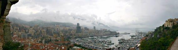 De Mening van Monaco Stock Foto