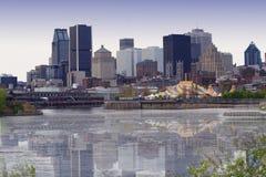 De mening van Montreal Royalty-vrije Stock Afbeeldingen