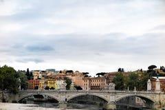 De mening van Nice in Rome, Italië Royalty-vrije Stock Fotografie