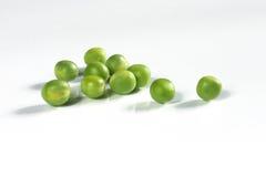 De mening van Nice van groene erwten Royalty-vrije Stock Foto