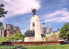 De mening van Ottawa van Oorlog Herdenkingsmei 2008 Stock Afbeelding