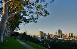 De mening van Perth van Koningenpark Westelijk Australië australië Stock Afbeelding