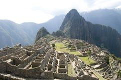 De mening van Picchu van Machu Royalty-vrije Stock Foto's