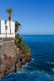 De Mening van Puerto de la Cruz stock fotografie