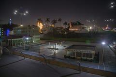 De mening van Puertosalvador allende atractions Stock Foto