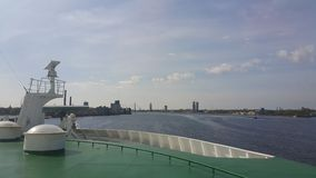 De mening van Riga Stock Foto