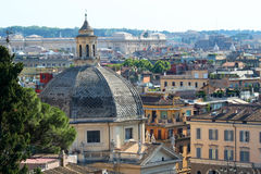 De mening van Rome Royalty-vrije Stock Foto