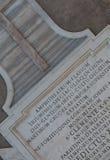 De mening van Rome, Italië - Colosseum- stock foto's
