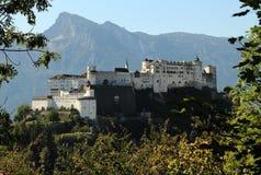 De mening van Salzburg Royalty-vrije Stock Afbeelding