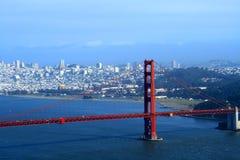 De mening van San Francisco Royalty-vrije Stock Fotografie