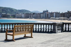 De mening van San Sebastian stock fotografie