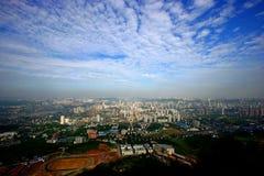 De mening van Shapingba van Chongqing Royalty-vrije Stock Foto's