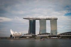 De mening van Singapore Stock Fotografie