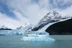 De mening van de Spegazzinigletsjer van Argentino-meer, het landschap van Patagoni?, Argentini? stock afbeeldingen