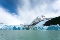De mening van de Spegazzinigletsjer van Argentino-meer, het landschap van Patagoni?, Argentini? stock fotografie