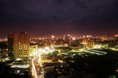 De Mening van stadsscape Royalty-vrije Stock Fotografie