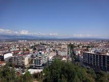 De mening van de de stadsvogel van Antalyamanavgat stock foto's