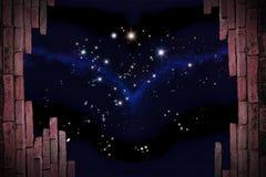 De mening van sterren Stock Afbeeldingen