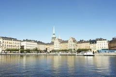 De mening van Stockholm Royalty-vrije Stock Fotografie