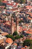 De mening van Taxco Royalty-vrije Stock Afbeeldingen