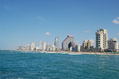 De mening van Tel Aviv royalty-vrije stock foto