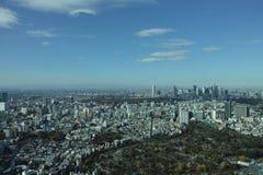 De mening van Tokyo Royalty-vrije Stock Foto's