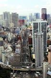 De mening van Tokyo Royalty-vrije Stock Fotografie