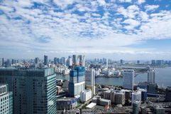 De mening van Tokyo van het handelscentrum van de Wereld Stock Foto's