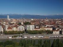 De Mening van Turijn Royalty-vrije Stock Foto's