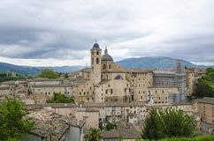 De mening van Urbino Royalty-vrije Stock Foto