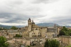 De mening van Urbino Stock Foto
