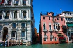 De mening van Venetië van de gondel Royalty-vrije Stock Fotografie