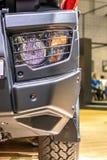 De mening van de vrachtwagenkoplamp van de voorzijde Royalty-vrije Stock Afbeeldingen