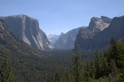 De mening van Yosemite royalty-vrije stock afbeeldingen