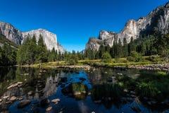 De Mening van Yosemite Stock Afbeelding