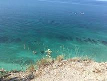 De mening van de Zwarte Zee Stock Afbeeldingen