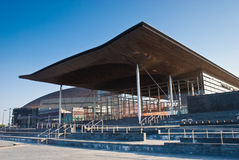 De meningen van Cardiff royalty-vrije stock afbeelding