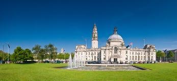 De meningen van Cardiff stock foto's