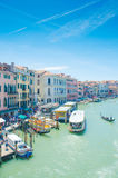 De meningen van de stad van Venetië Royalty-vrije Stock Foto